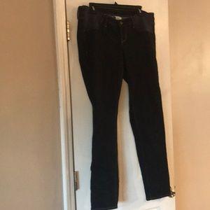 Old Navy Side Panel Maternity Skinny Jeans Size 12